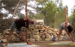 Una sesión de Yoga